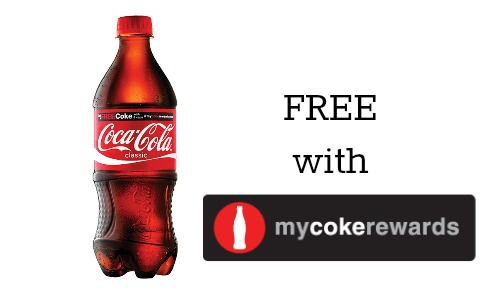 Free Soda with My Coke Rewards