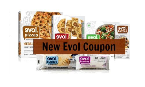 new evol coupon