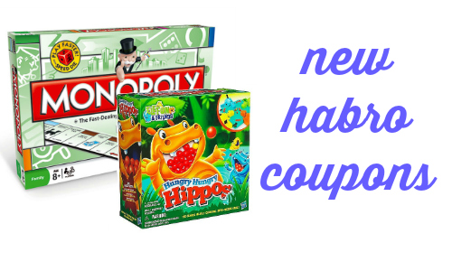 new hasbro coupons