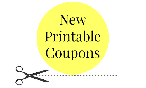 56 New Coupons To Print!