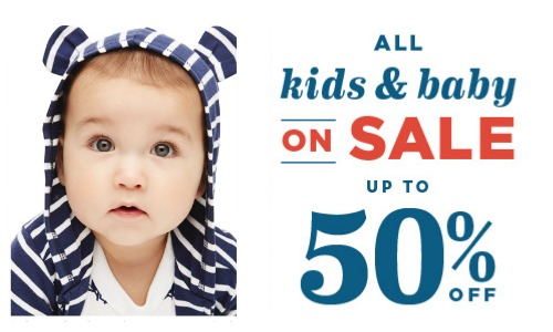 0394b0db6250f Old Navy Sale: Kids, Baby & Maternity Clothes, Up to 50% Off ...
