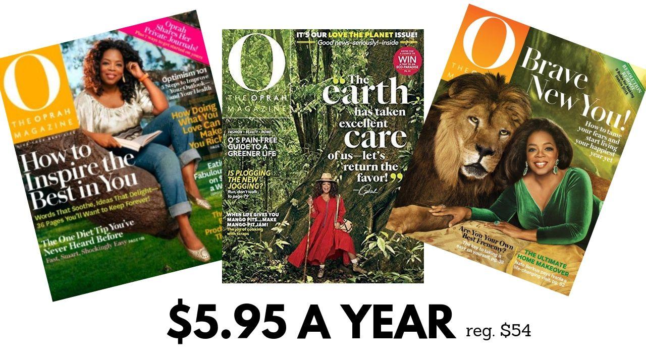 Oprah Magazine Subscription