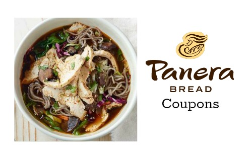 panera bread coupon