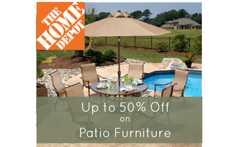 Patio Furniture Sale  Home Depot Patio