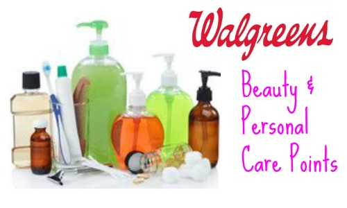 personal care points