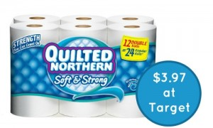 quilted northern target giftcard deal