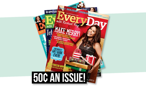 everyday with rachael ray magazine subscription