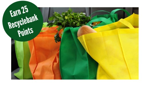 recyclebank points reusable bag