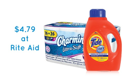 rite aid deal charmin and tide