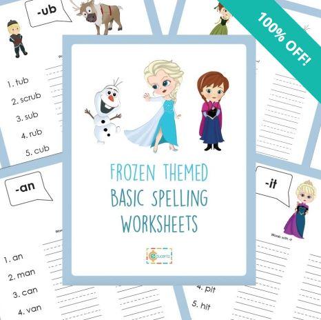 spelling worsheets
