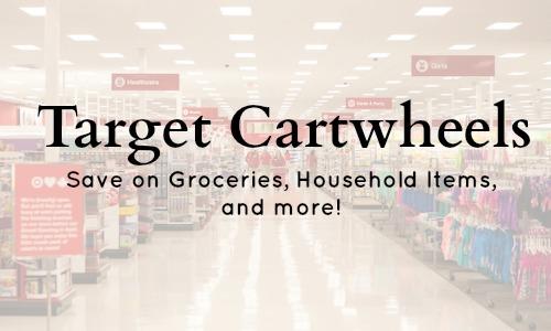 target cartwheels