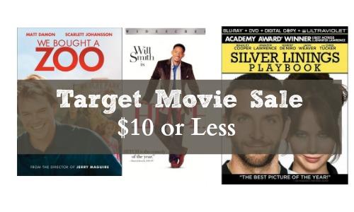 target movie sale