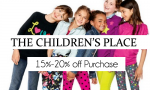 The Children's Place Coupon | 15%-25% off Purchase