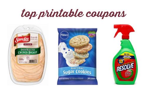 top printable coupons