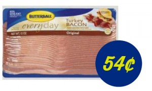 turkey bacon deal