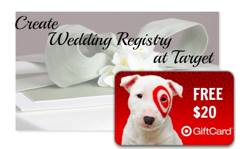 Wedding Gift Card Target : Target: USD20 Target Giftcard with Wedding Registry
