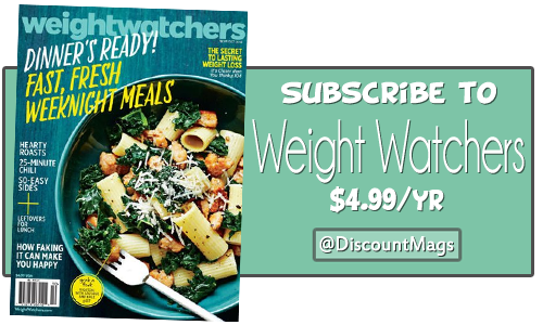 weight watchers magazine subscription deal 499 a year