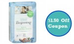Well Beginnings Coupon | $1.50 Off Training Pants