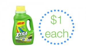 xtra detergent at walgreens