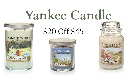 yankee candle coupon 20 off 45