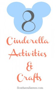 Cinderella movie activities & crafts.