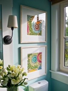 Fabric-in-frames