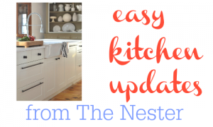 Here some easy kitchen updates for your home or your rental!