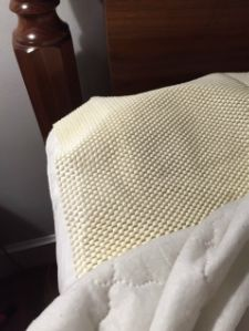How to keep a mattress pad in place.