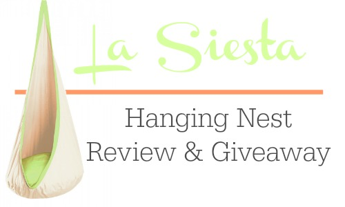 La Siesta Hanging Nest Review & Giveaway