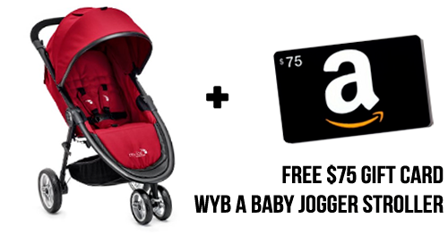 baby jogger stroller amazon gift card deal2