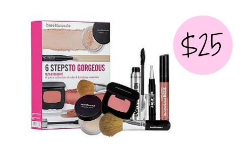 Ulta Deal: 6-Piece BareMinerals Kit for $25, Today Only!
