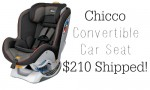 Diapers.com: Chicco Convertible Car Seat, $209.99 Shipped