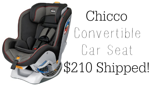 Need A New Convertible Car Seat Diapers Has Great Deal On The Chicco Nextfit Its 27999 But Use Code GREATSALE To Get An