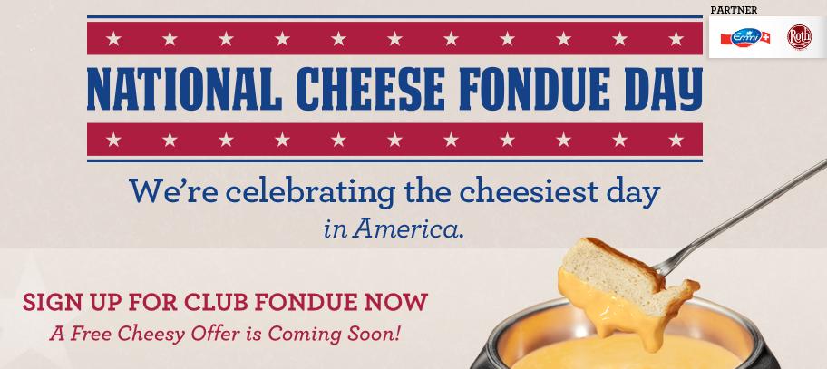 cheesy fondue