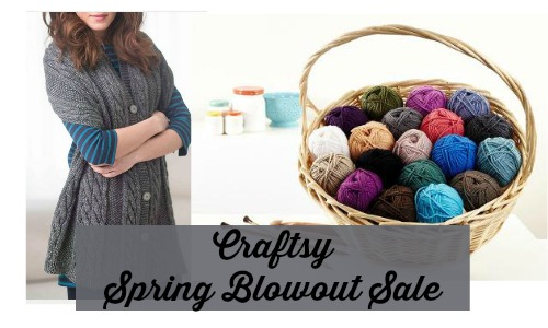 craftsy spring blowout sale