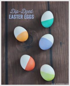 dip dyed egg