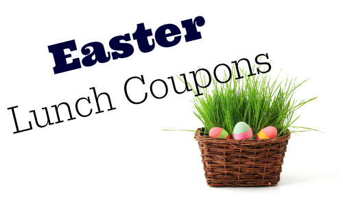 easter lunch coupons