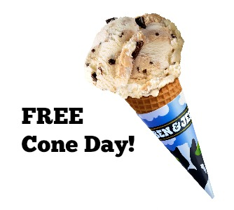 Image result for ben & jerry's cone pic