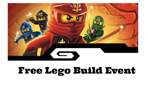free lego build event