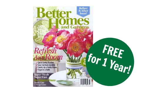 free magazine - Free Better Homes And Gardens Magazine