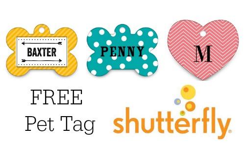free pet tag