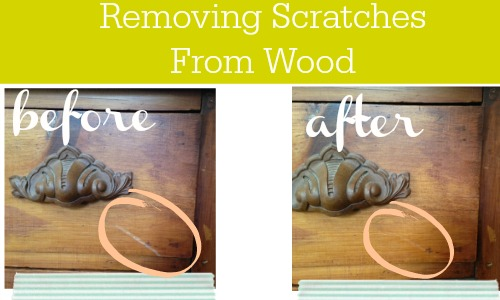 how to remove scratches from wood using only a walnut