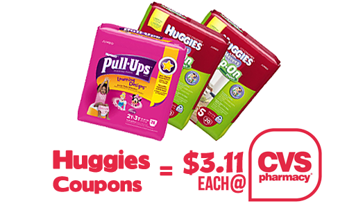 huggies coupon cvs deal
