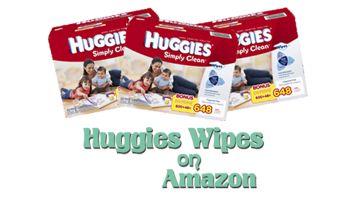 huggies wipes on amazon