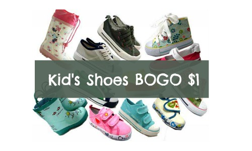 Kmart Shoe Sale | BOGO $1 Kids Shoes :: Southern Savers