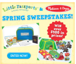 Sweepstakes | Win Over $400 In Melissa and Doug Prizes