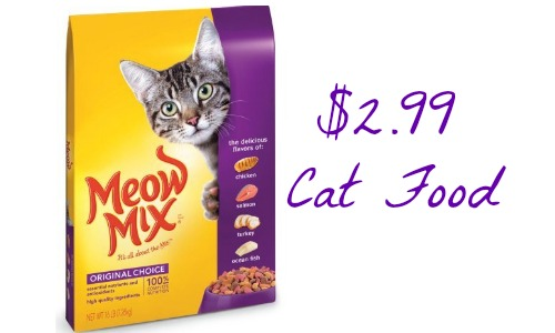 picture about Meow Mix Coupon Printable named Meow Combine Coupon Cat Food stuff 85¢ For every Pound :: Southern Savers