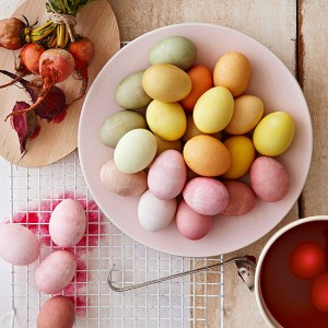 natural egg dye recipes