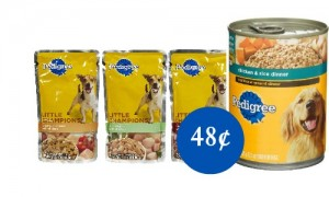 pedigree coupons wet dog food