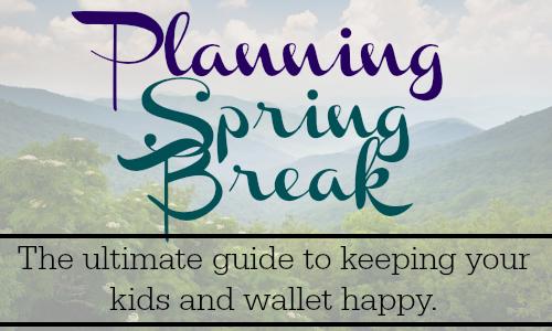 planning spring break